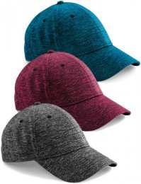 BB676: Marl Stretch-Fit Cap