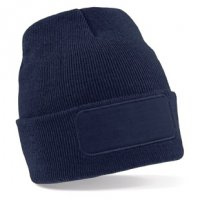 BB445: Patch Beanie Hat