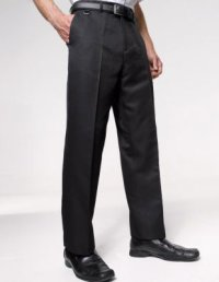 WT12: Men's Flat Fronted Trousers