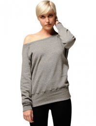 BL75: Ladies Off Shoulder Sweatshirt