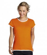 RE70: Ladies Raw Edge Tee