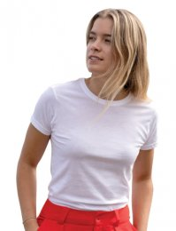 EA01F: Ladies Organic Cotton Tee Shirt