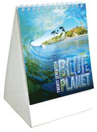 BPMC: Blue Planet Mini Desk Calendar
