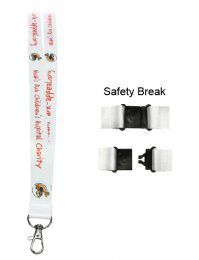 LAN05: Dye Sublimation Lanyard 20mm