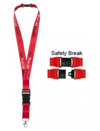 LAN07: Detatchable Buckle Lanyard