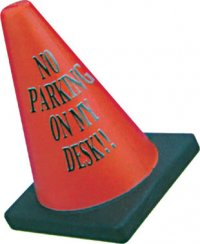 A0173: Traffic Cone Stress Buster