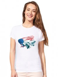ST1705: Subli Tee Shirt - Ladies