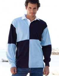 RQ1: Men's Quartered Rugby Shirt