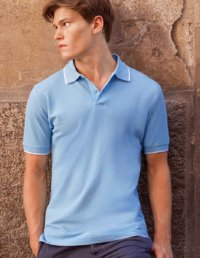 PS25: Cotton Tipped Polo Shirt