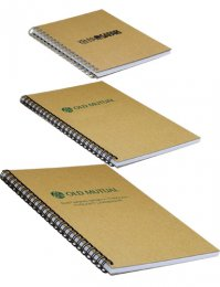 NWP18: Recycled Board WiroBound Notepad