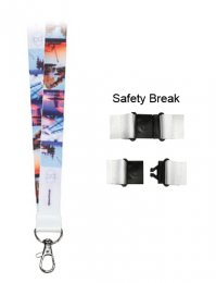 LAN04: Dye Sublimation Lanyard 15mm