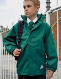 KJ3: Children's Reversible Waterproof Jacket