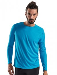 S72M: Sporty Long Sleeve Training Shirt