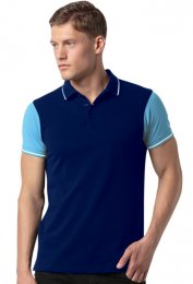 KP41: Contrast Tipped Polo Shirt
