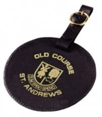 G0296: Lytham Leather Bag Tag
