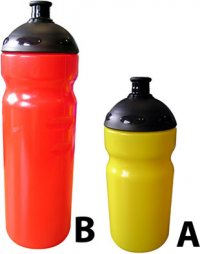 B8562: Gym Sports Bottle (500ml or 750ml)