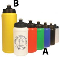 B8581: Budget Sports Bottle (500ml or 750ml)